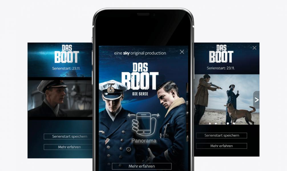 Sky das Boot Panorama Plus Ad Digitalsunray